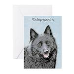 Schipperke Greeting Cards (Pk of 20)