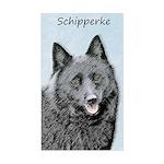 Schipperke Sticker (Rectangle)