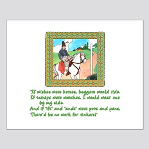 Mother Goose If Wishes Were Horses Small Poster