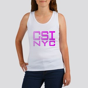 CSI NYC PINK Women's Tank Top