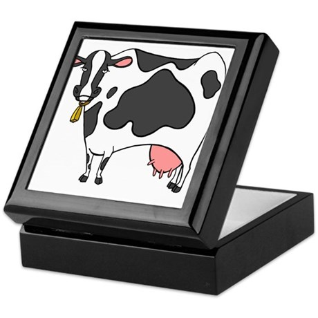 Dairy Cow Keepsake Box