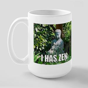 ZenCat's Large Inner Peace Mug
