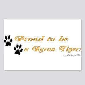 Proud To Be A Byron Tiger Ite Postcards (Package o