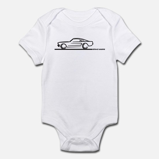 Mustang 64 to 66 Fastback Infant Bodysuit