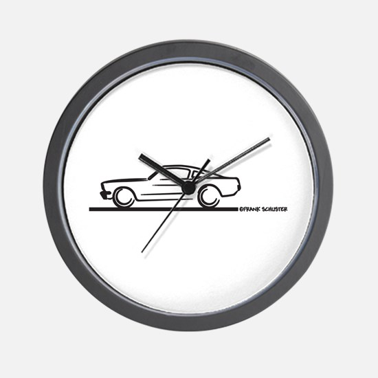 Mustang 64 to 66 Fastback Wall Clock