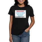 Constitutional Watchdog on du Women's Dark T-Shirt