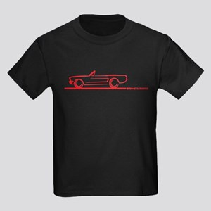 Mustang 64 to 66 Convertible Kids Dark T-Shirt