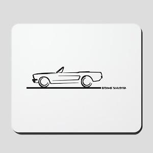 Mustang 64 to 66 Convertible Mousepad