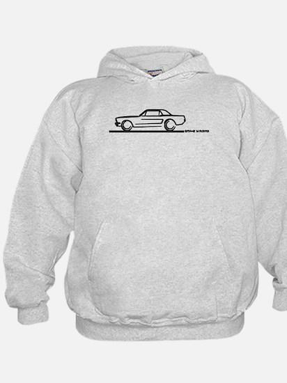 Mustang 64 to 66 Hardtop Hoodie