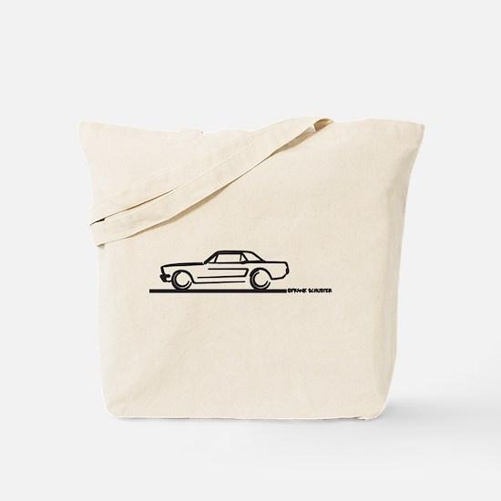 Mustang 64 to 66 Hardtop Tote Bag