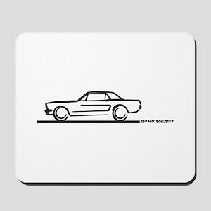Mustang 64 to 66 Hardtop Mousepad