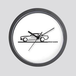 Mustang 64 to 66 Hardtop Wall Clock