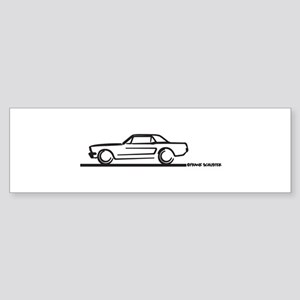 Mustang 64 to 66 Hardtop Bumper Sticker