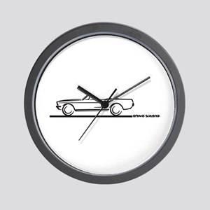 1967 1968 Mustang Convertible Wall Clock