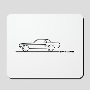 Mustang 67 and 68 Hardtop Mousepad