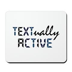 Textually Active Mousepad