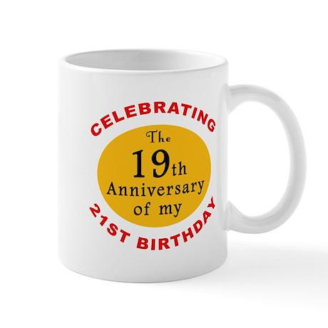 Celebrating 40th Birthday Mug