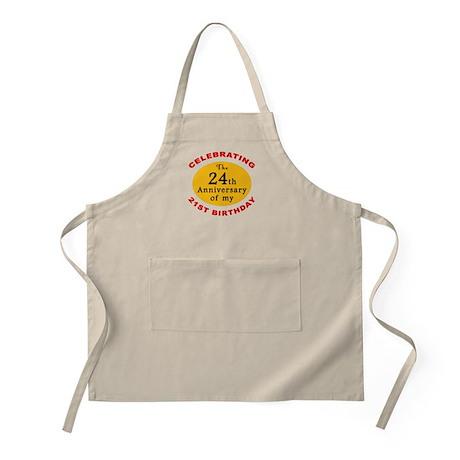 Celebrating 45th Birthday BBQ Apron