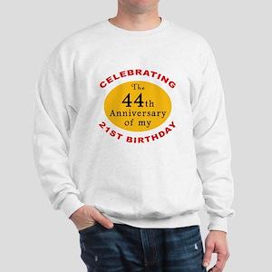 Celebrating 65th Birthday Sweatshirt