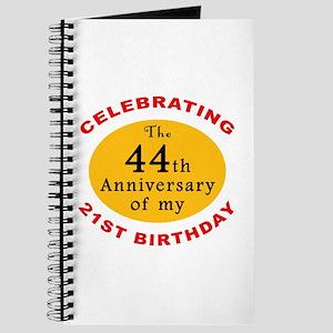 Celebrating 65th Birthday Journal