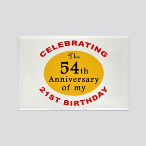 Celebrating 75th Birthday Rectangle Magnet