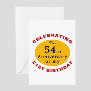 Celebrating 75th Birthday Greeting Card
