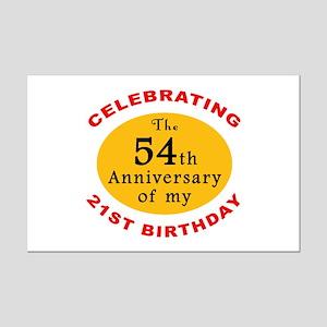Celebrating 75th Birthday Mini Poster Print