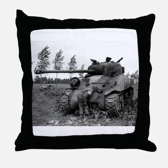 British Firefly Tank Throw Pillow