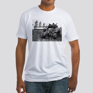 British Firefly Tank Fitted T-Shirt
