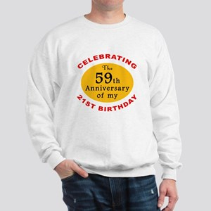 Celebrating 80th Birthday Sweatshirt