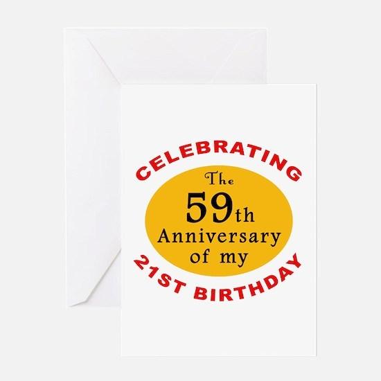 Celebrating 80th Birthday Greeting Card