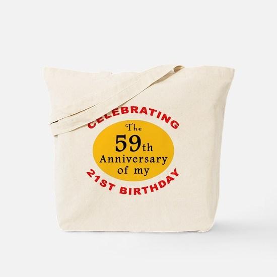 Celebrating 80th Birthday Tote Bag