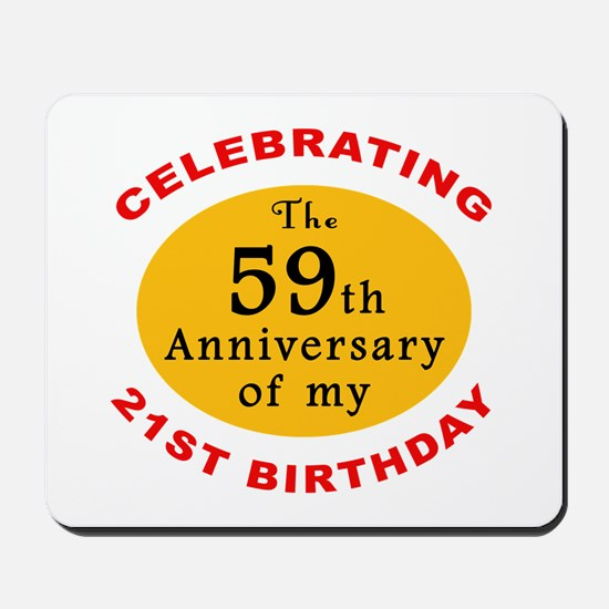 Celebrating 80th Birthday Mousepad