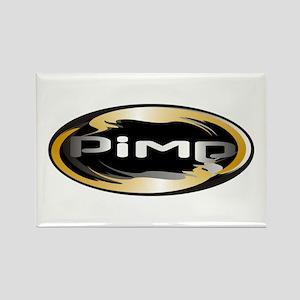Pimp Rectangle Magnet