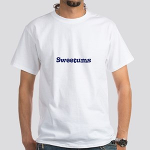 Sweetums White T-Shirt