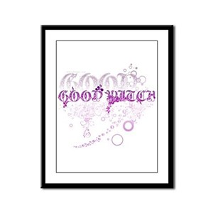 Good Witch Framed Panel Print