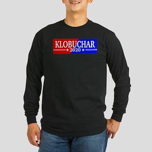 Klobuchar 2020 Long Sleeve Dark T-Shirt