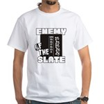 Enemy Of The Slate White T-Shirt