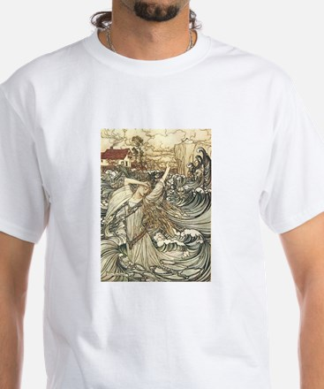 Lady of the Lake White T-Shirt