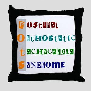 POTS Syndrome Throw Pillow