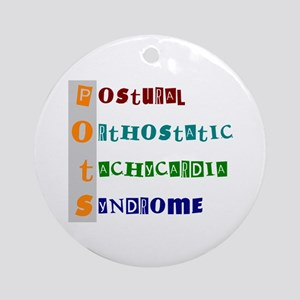 POTS Syndrome Ornament (Round)