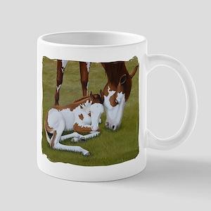 Paint Mare & Foal Mug