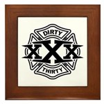 Dirty 30 Framed Tile