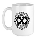 Dirty 30 Large Mug