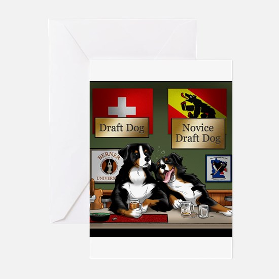Draft Dogs Greeting Cards (Pk of 10)