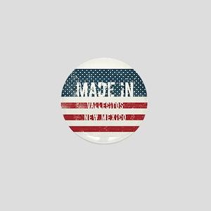 Made in Vallecitos, New Mexico Mini Button