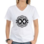 Dirty 30 Women's V-Neck T-Shirt