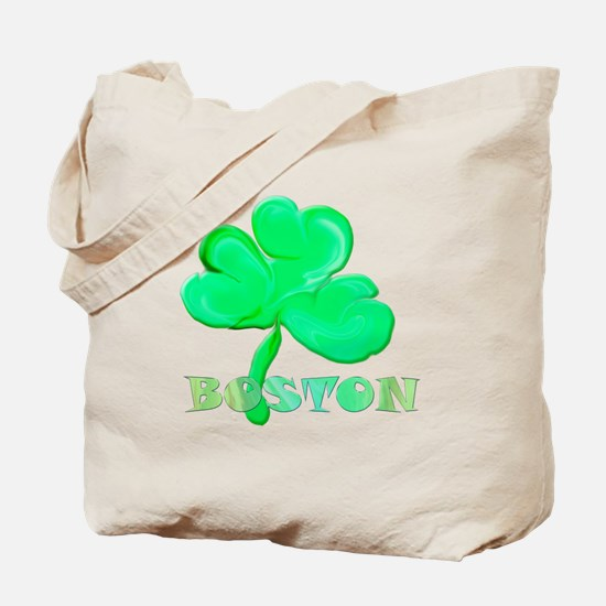Boston Clover Tote Bag