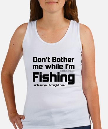 Don't Bother Me When I'm Fish Women's Tank Top