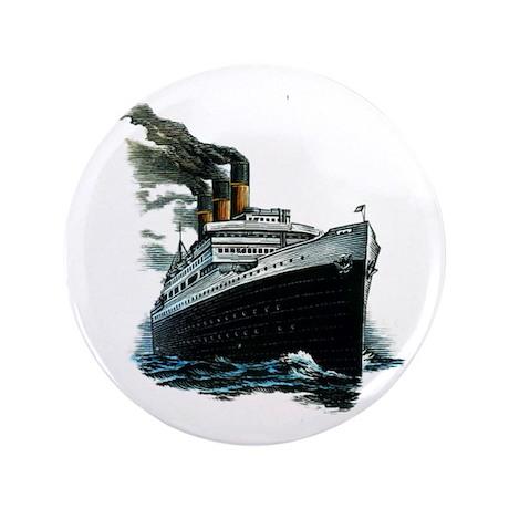"""BLACK SHIP 3.5"""" Button"""